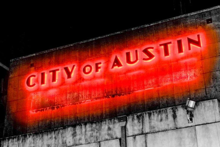 City of Austin Sign