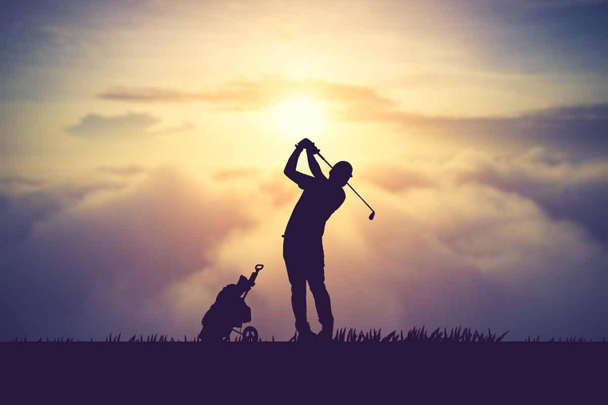 Texas Golf at Sunset