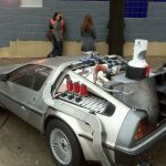 SXSW Delorean