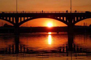 Penny Back Bridge in Austin