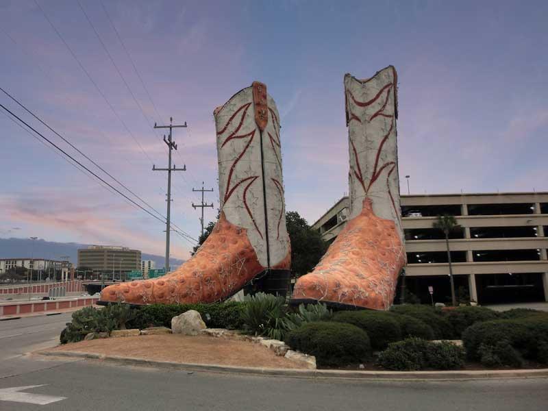 Austin Giant Cowboy Boots