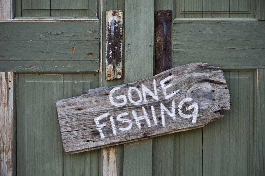 Lake Travis Gone Fishing Pic